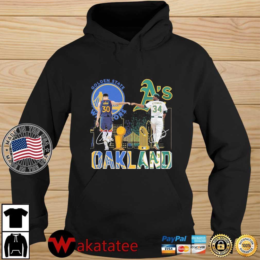 Golden State Warriors Stephen Curry Oakland Athletics Stewart Oakland s Wakatatee hoodie den