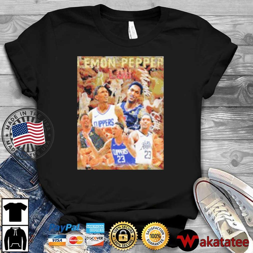 Lemon Pepper Lou Los Angeles Basketball Shirt