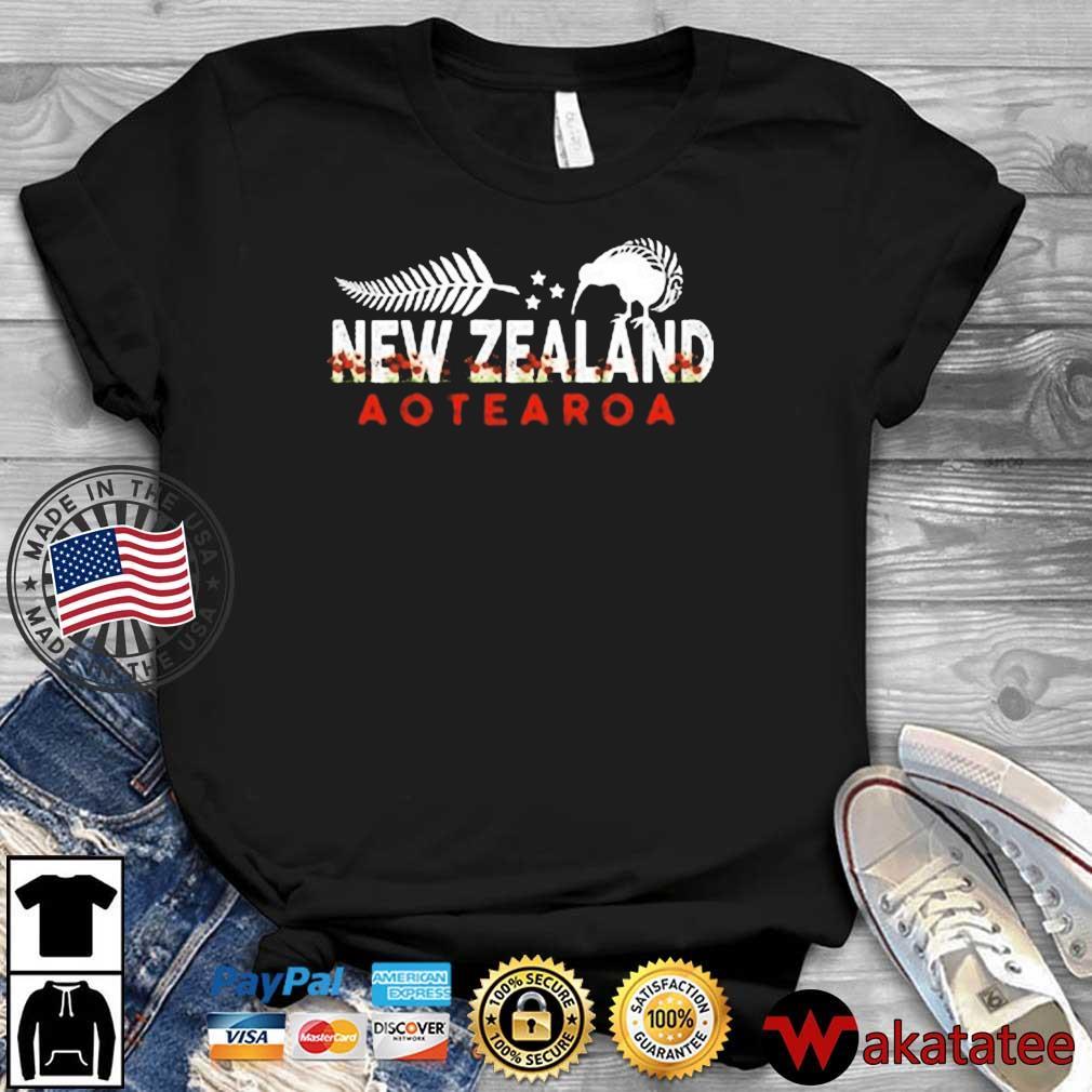 New Zealand aotearoa shirt