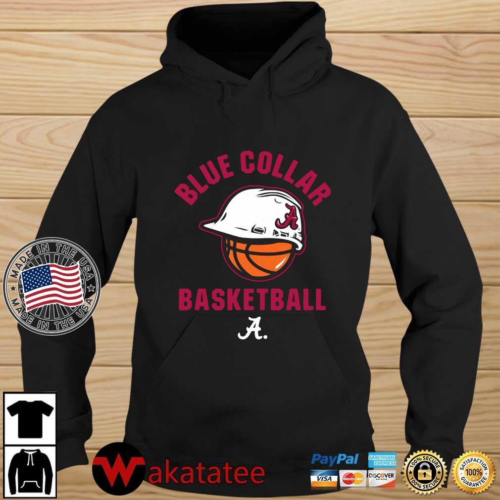 Alabama Crimson Tide blue collar basketball 2021 Wakatatee hoodie den