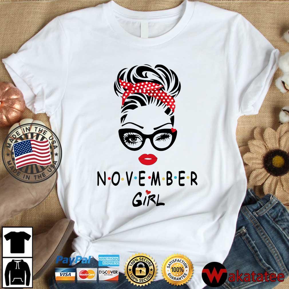 November girl 2021 shirt