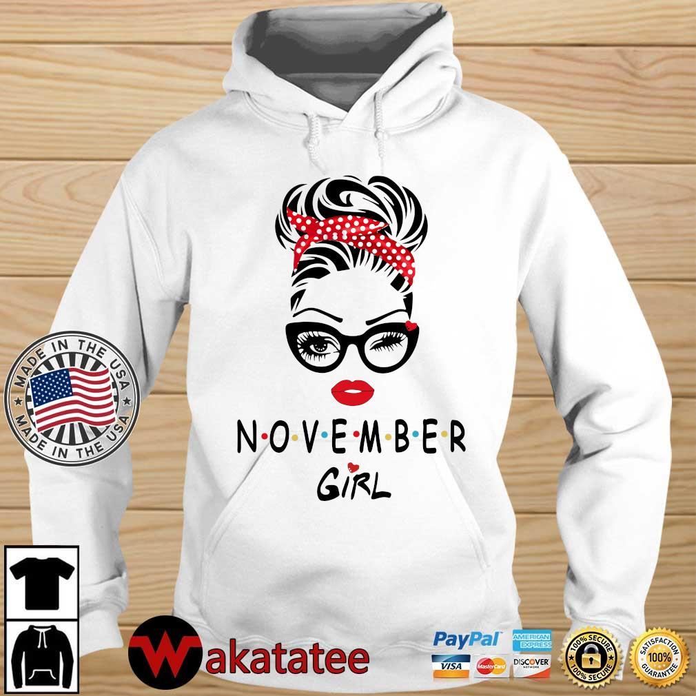 November girl 2021 Wakatatee hoodie trang