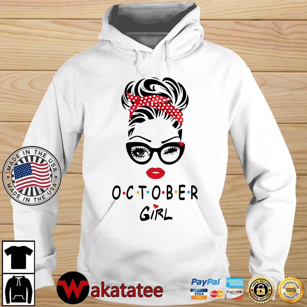 October girl 2021 Wakatatee hoodie trang