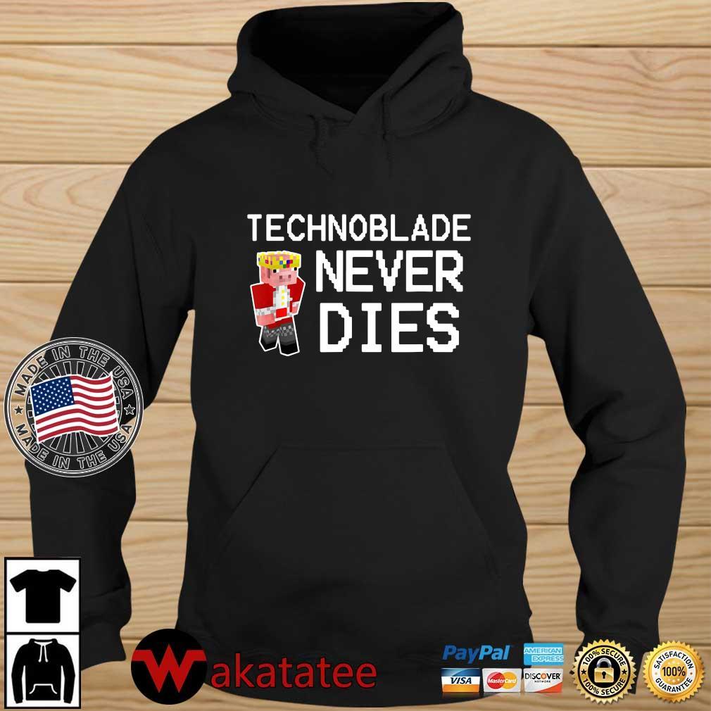 Technoblade never dies Wakatatee hoodie den