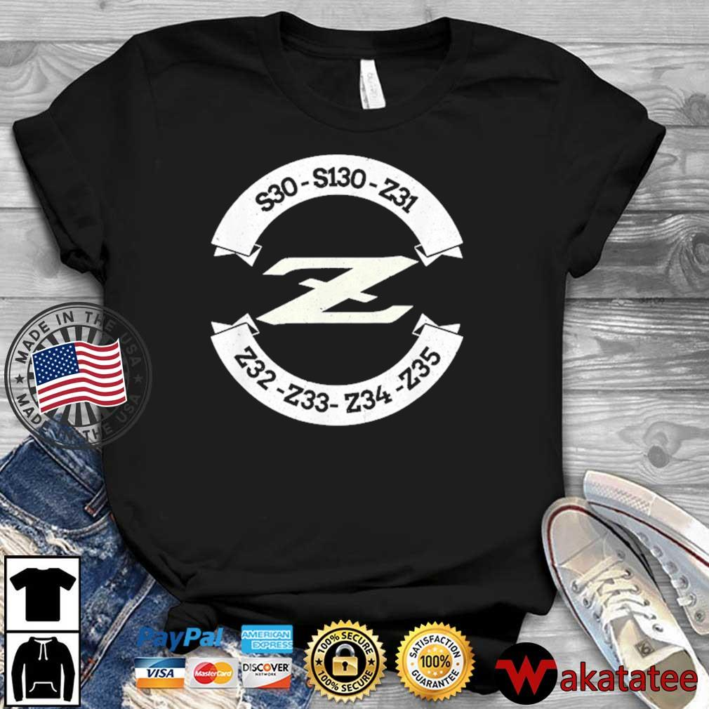 Heritage Z Classic JDM Car Badge Shirt