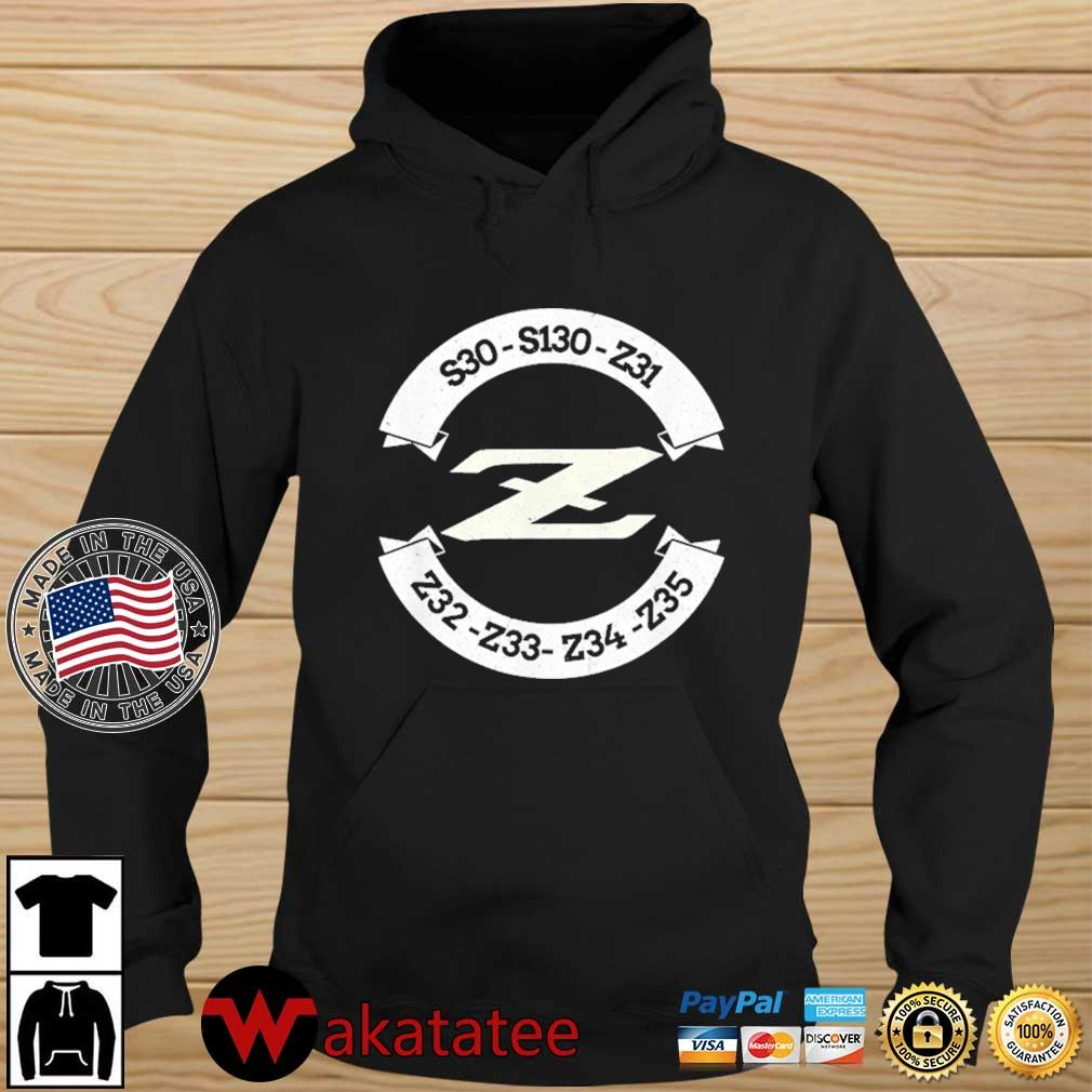 Heritage Z Classic JDM Car Badge Shirt Wakatatee hoodie den