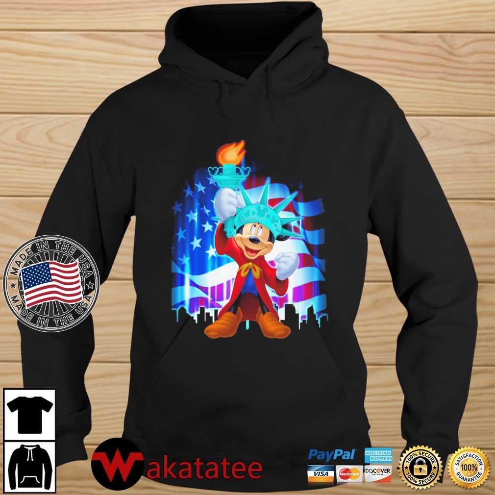 Mickey Mouse Liberties American Flag Shirt Wakatatee hoodie den