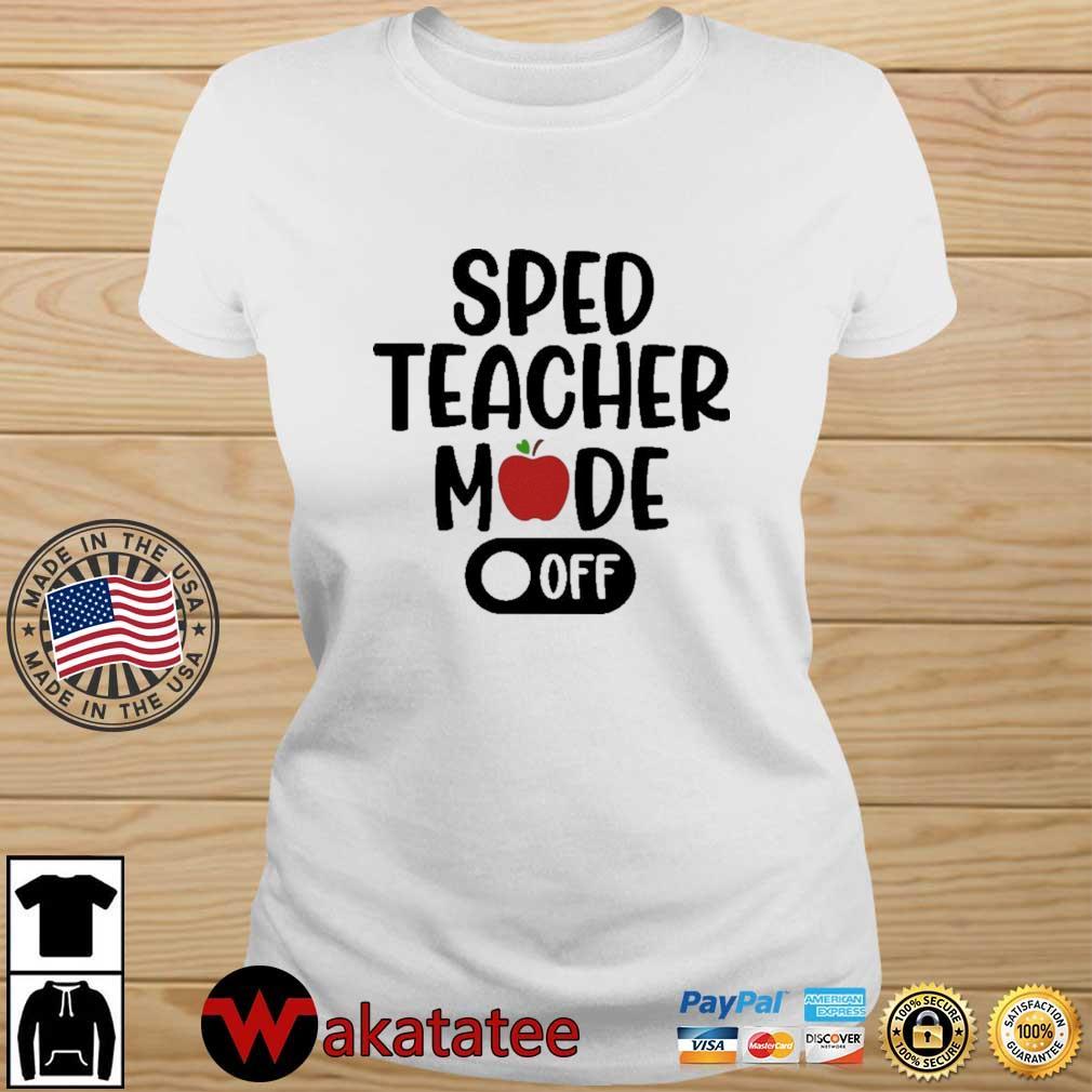 Sped teacher mode off Wakatatee ladies trang