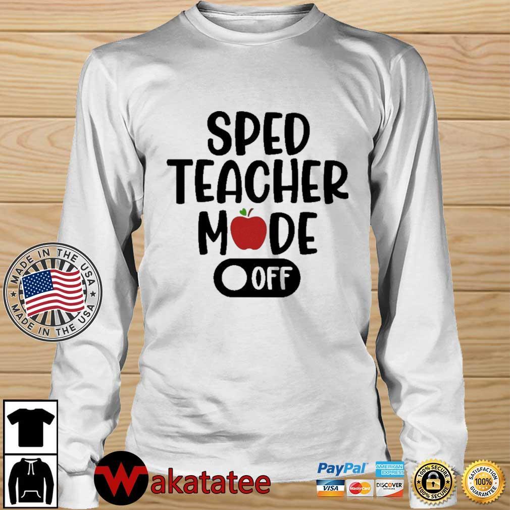 Sped teacher mode off Wakatatee longsleeve trang