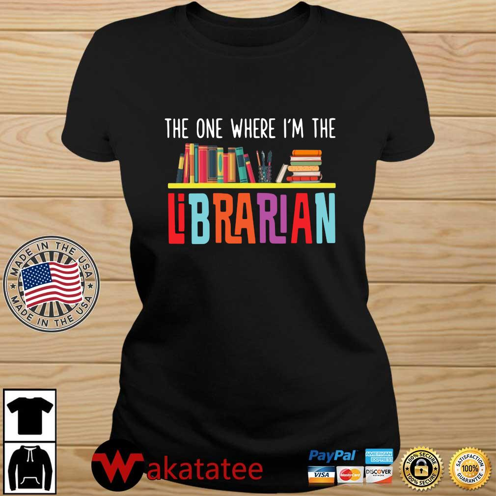 The one where I'm the librarian Wakatatee ladies den