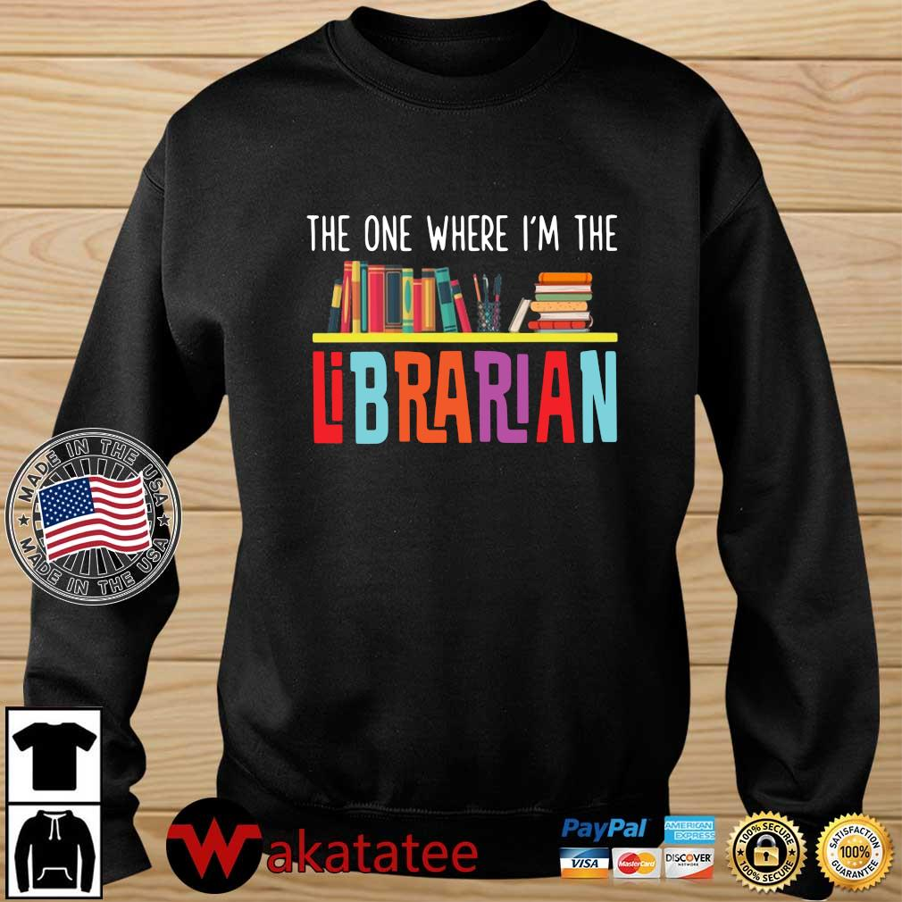 The one where I'm the librarian Wakatatee sweater den