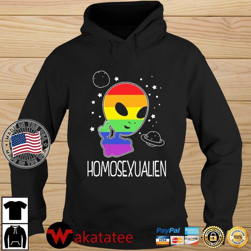 Alien Homosexualien Shirt Wakatatee hoodie den