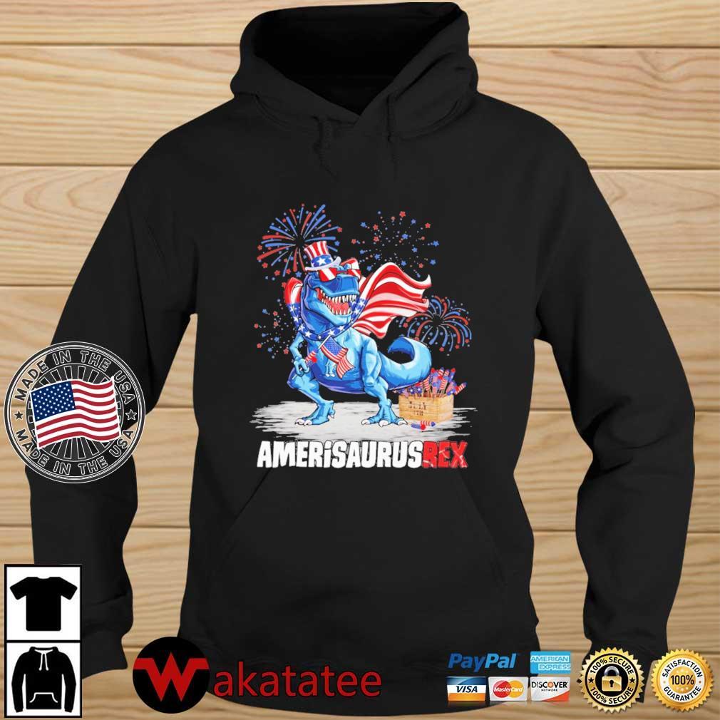 Amerisaurusrex 4th Of July Shirt Wakatatee hoodie den