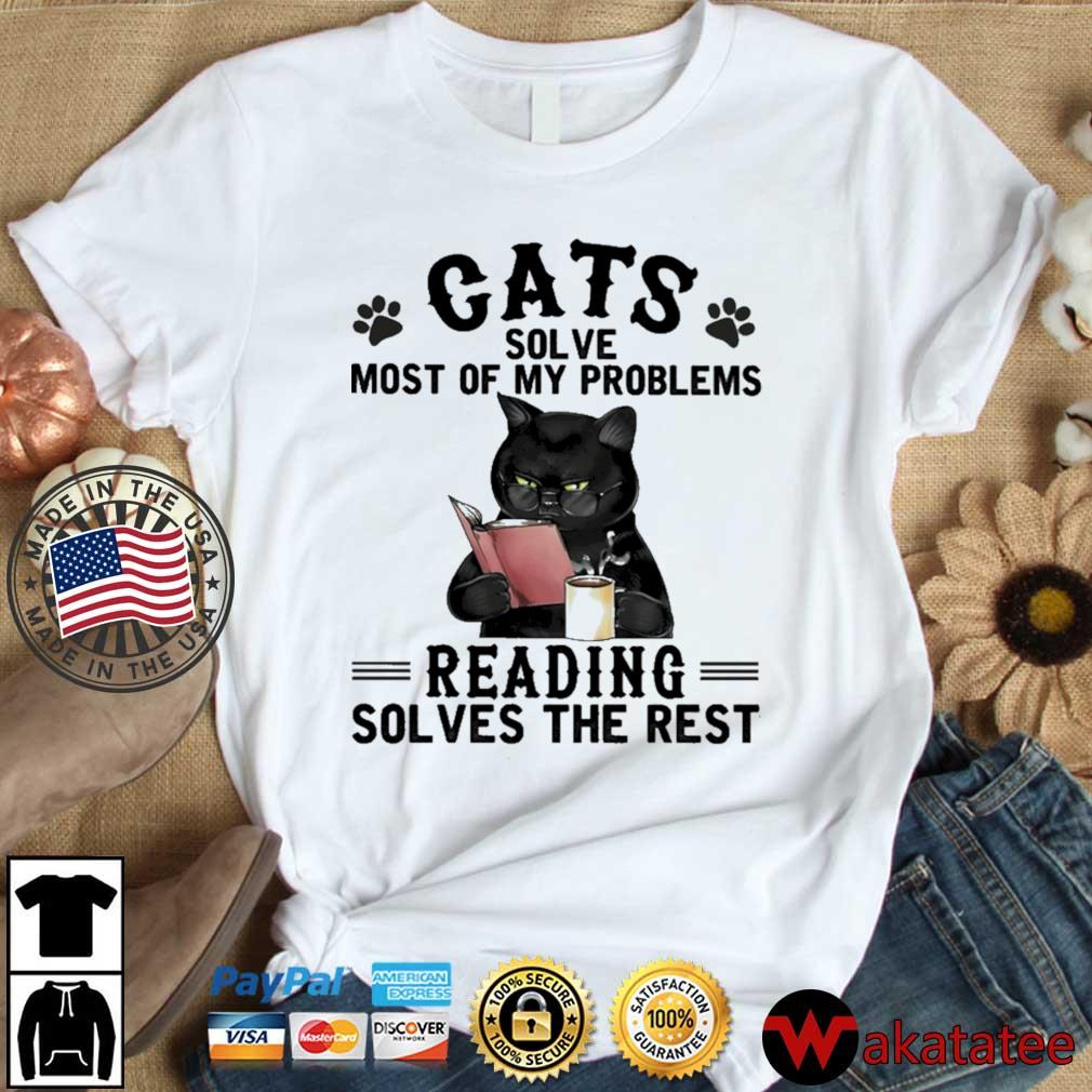 Cats solve most of my problems reading solves the rest s Wakatatee dai dien trang