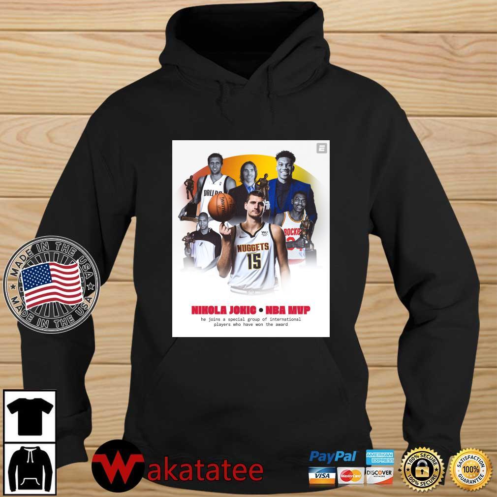 Nikola Jokic NBA Mvp he join a special group s Wakatatee hoodie den