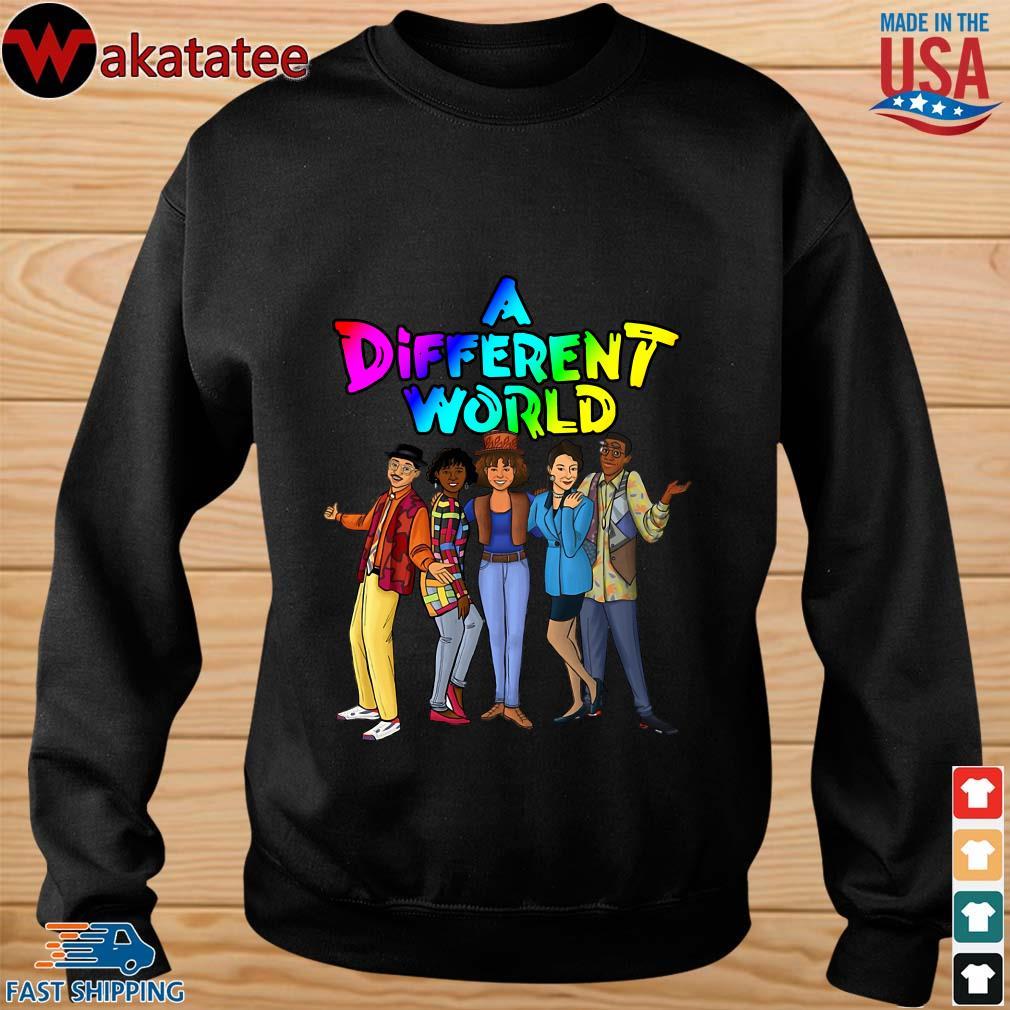A different world s sweater den