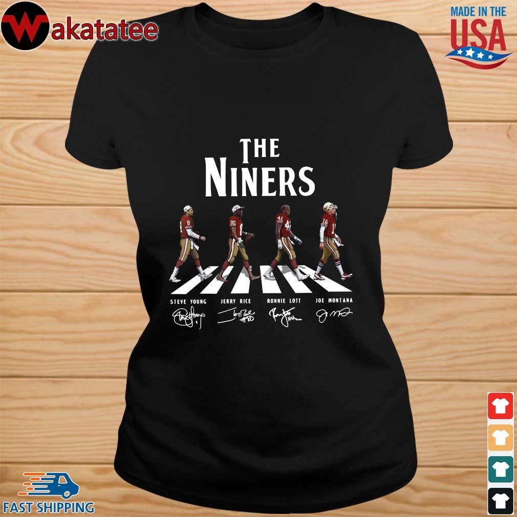 Abbey road the niners signatures s ladies den