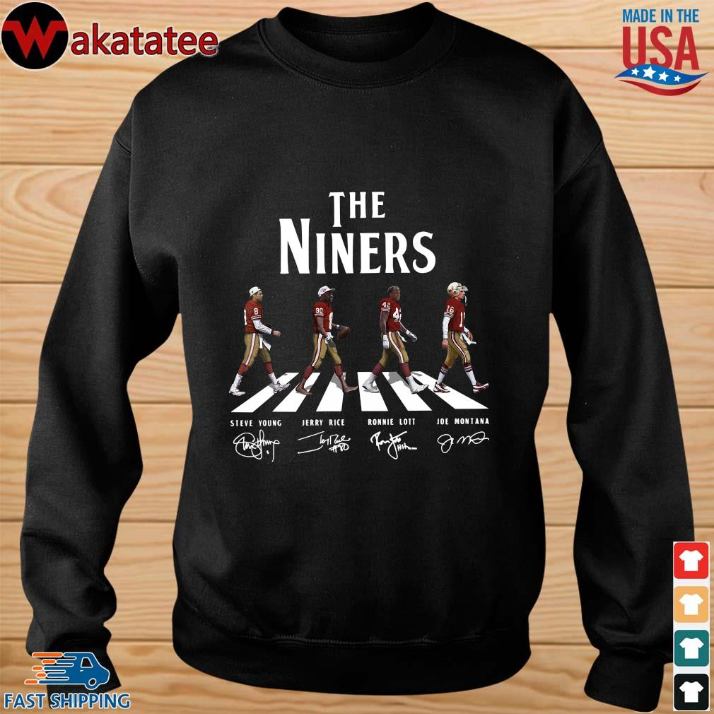 Abbey road the niners signatures s sweater den