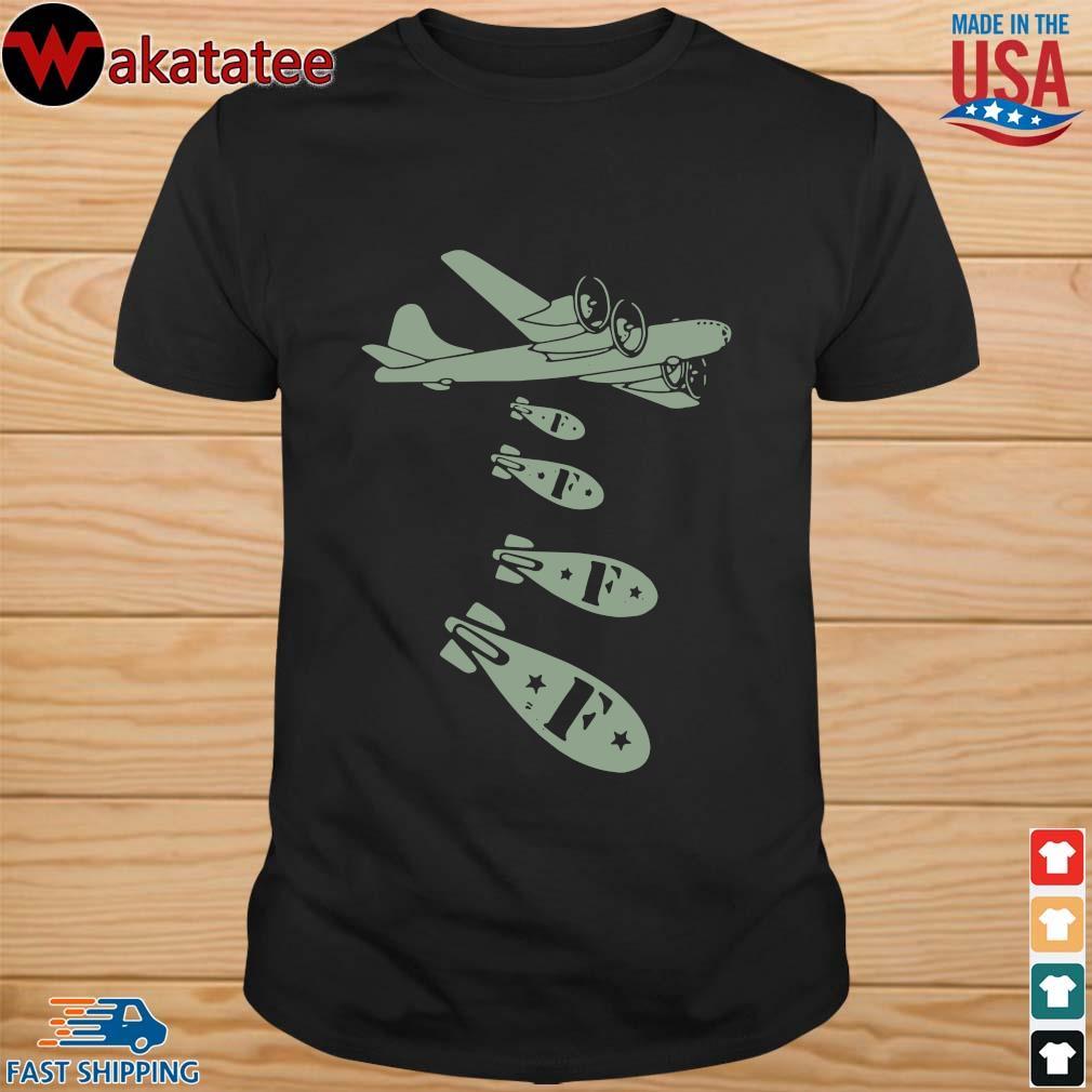 Bomber Dropping F Bomb Shirt