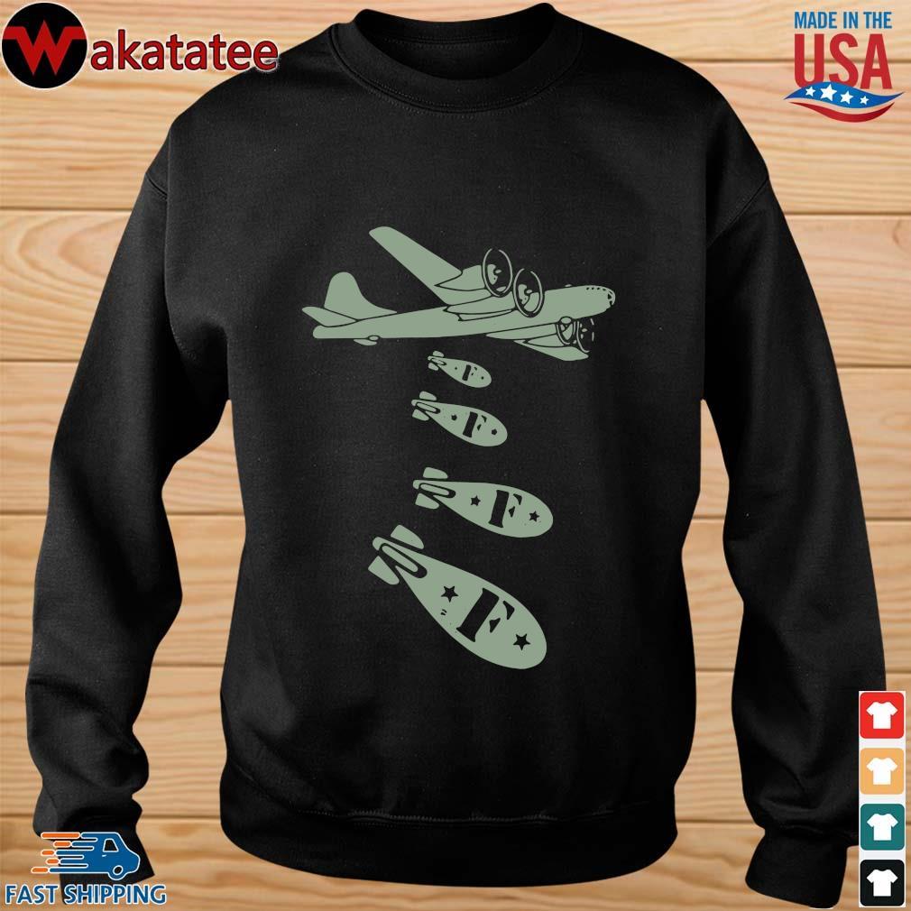 Bomber Dropping F Bomb Shirt sweater den