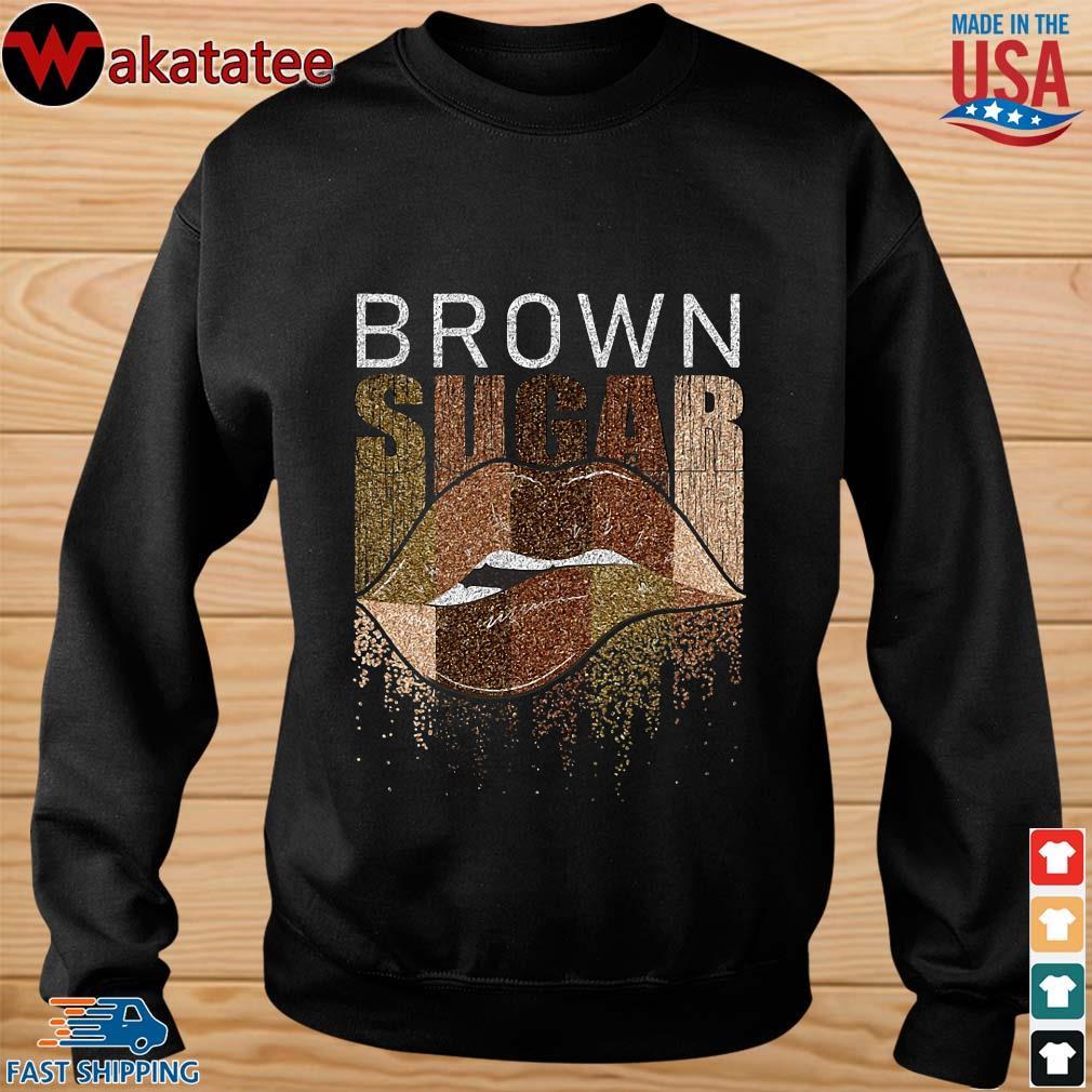 Brown sugar lip shirts sweater den