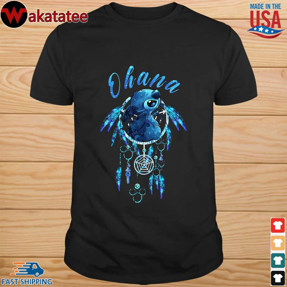 Native Ohana Stitch Dream Catcher Shirt