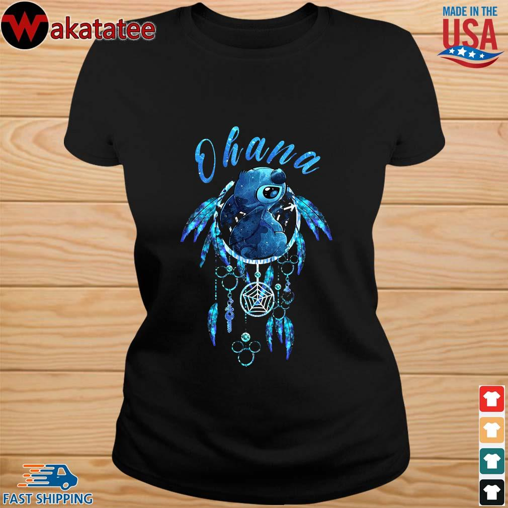 Native Ohana Stitch Dream Catcher Shirt ladies den