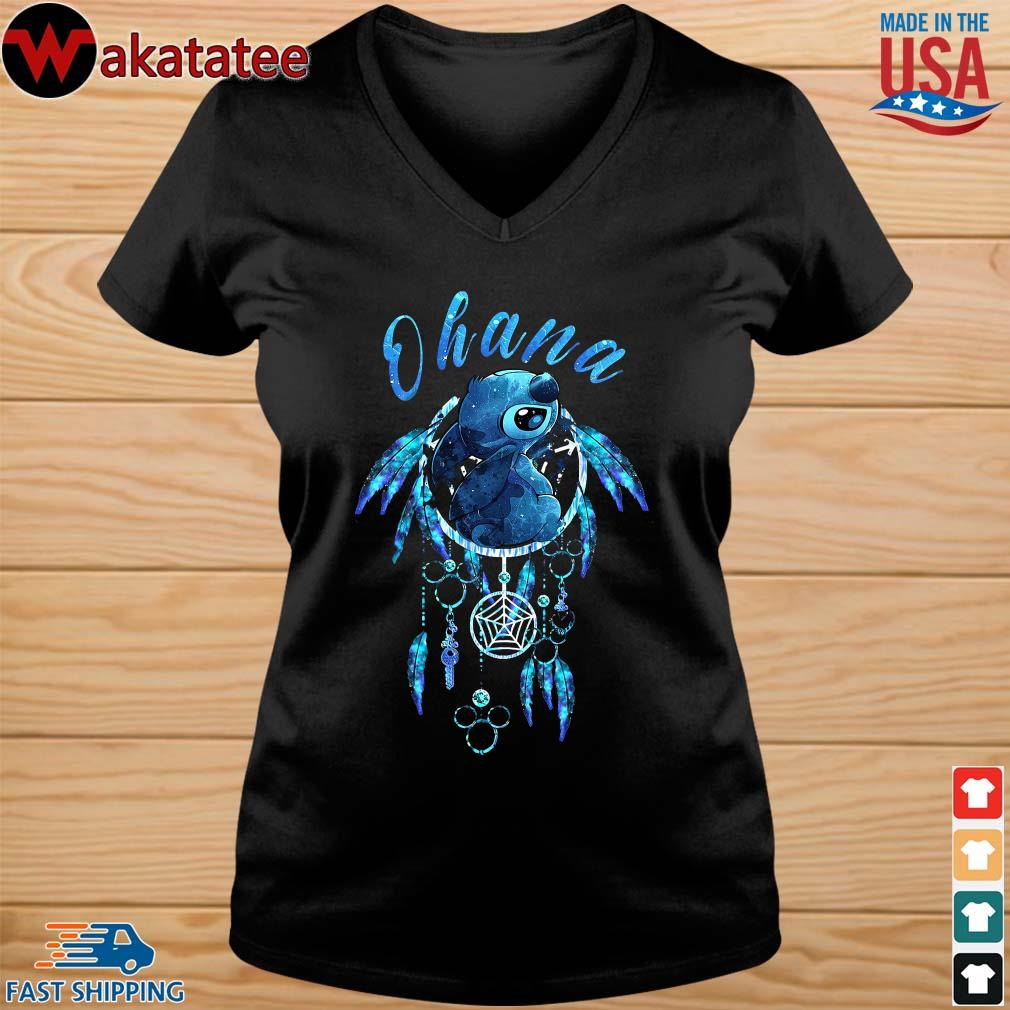 Native Ohana Stitch Dream Catcher Shirt vneck den