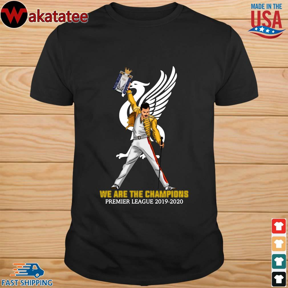 Official Freddie Mercury Liverpool We The Champions Preamier Leeague 2019-2020 Shirt