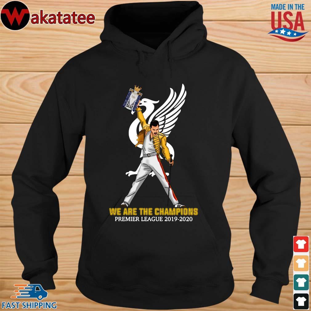 Official Freddie Mercury Liverpool We The Champions Preamier Leeague 2019-2020 Shirt hoodie den