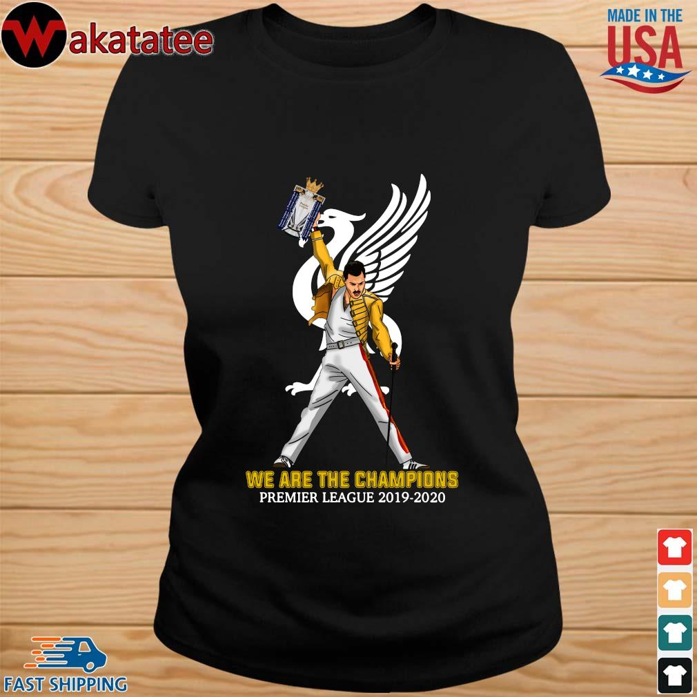 Official Freddie Mercury Liverpool We The Champions Preamier Leeague 2019-2020 Shirt ladies den