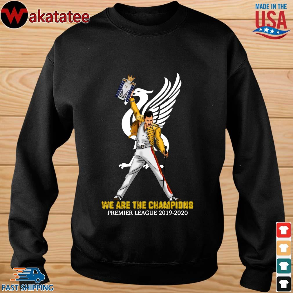 Official Freddie Mercury Liverpool We The Champions Preamier Leeague 2019-2020 Shirt sweater den