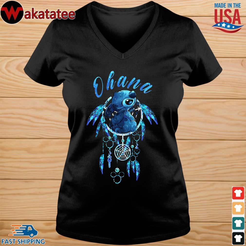 Ohana Stitch Dream Catcher Shirt vneck den