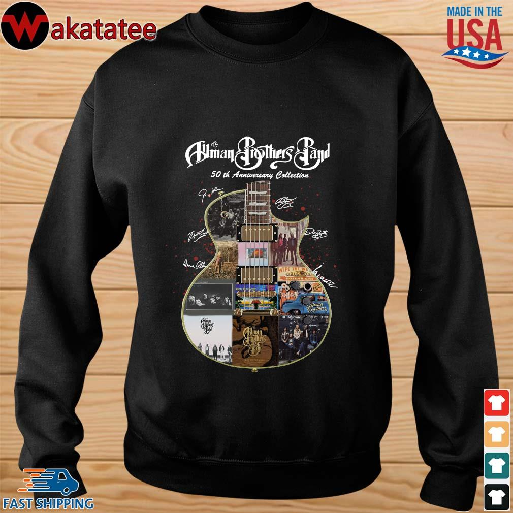 The Allman Brothers Band 50th Anniversary Collection Guitar Signature Shirt sweater den