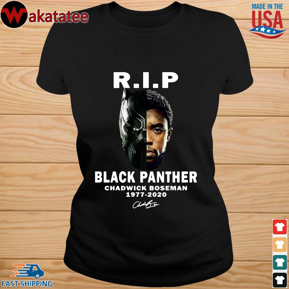 Black Panther Rip Chadwick Boseman 1977-2020 signature s ladies den