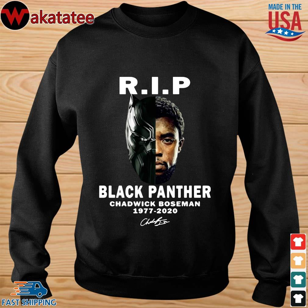 Black Panther Rip Chadwick Boseman 1977-2020 signature s sweater den