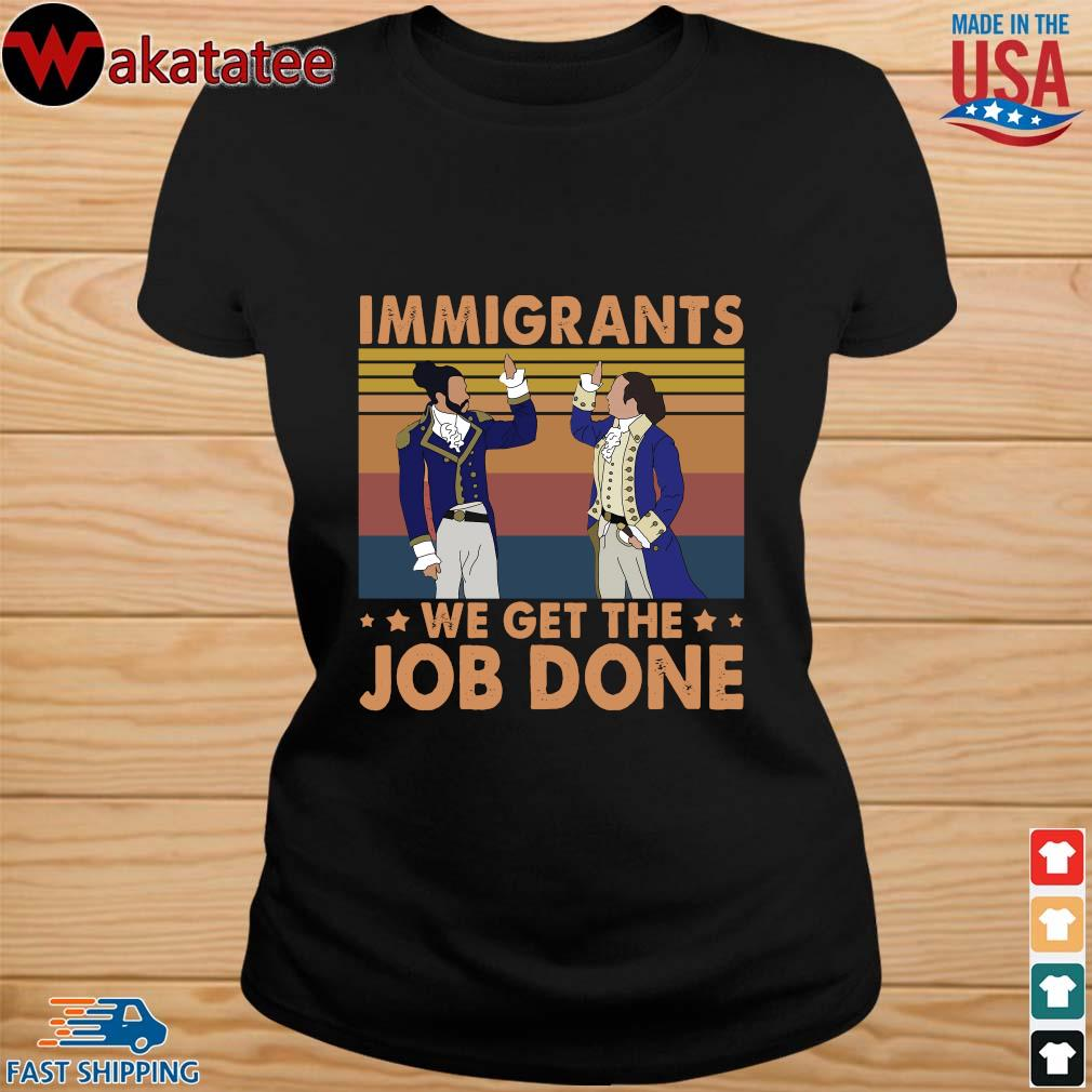 Hamilton immigrants we get the job done vintage s ladies den