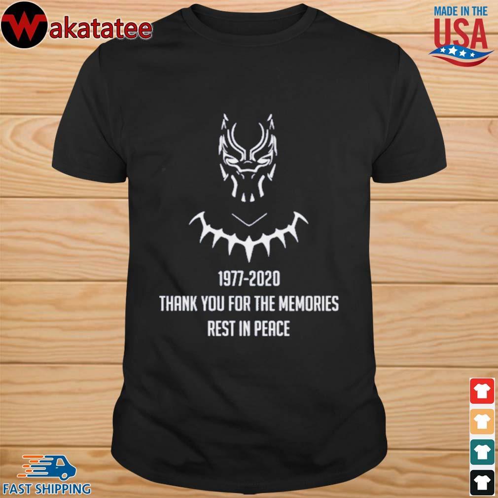 RIP CHADWICK BOSEMAN BLACK PANTHER T-Shirts