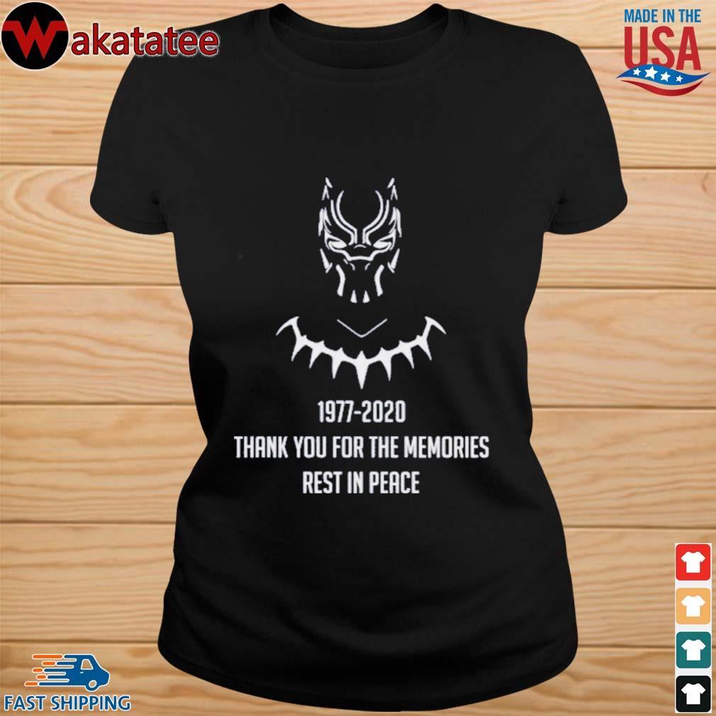 RIP CHADWICK BOSEMAN BLACK PANTHER T-Shirts ladies den
