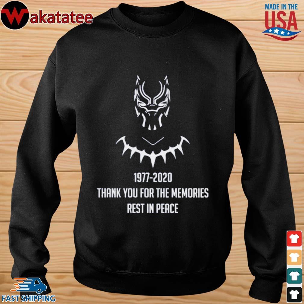 RIP CHADWICK BOSEMAN BLACK PANTHER T-Shirts sweater den