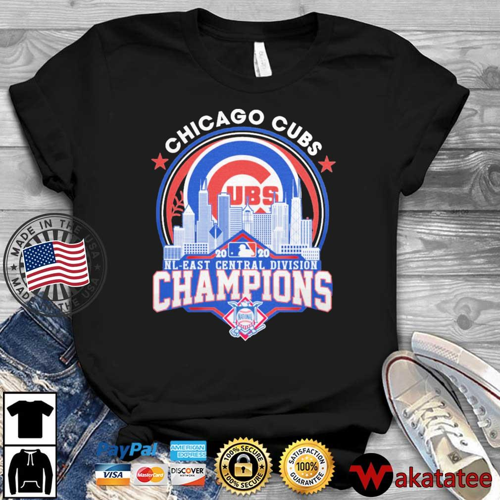 Chicago Cubs 2020 NL East Central Division Champions shirt