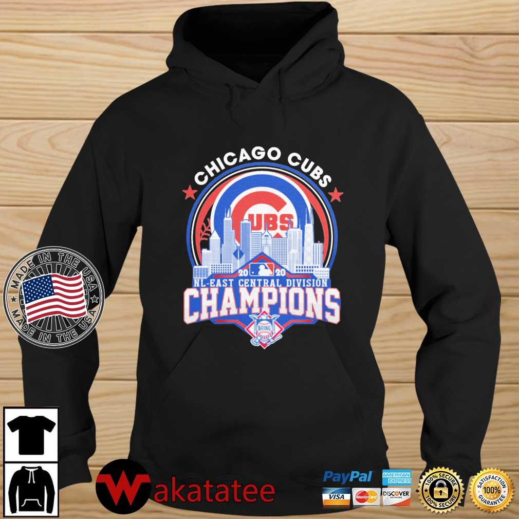 Chicago Cubs 2020 NL East Central Division Champions s Wakatatee hoodie den