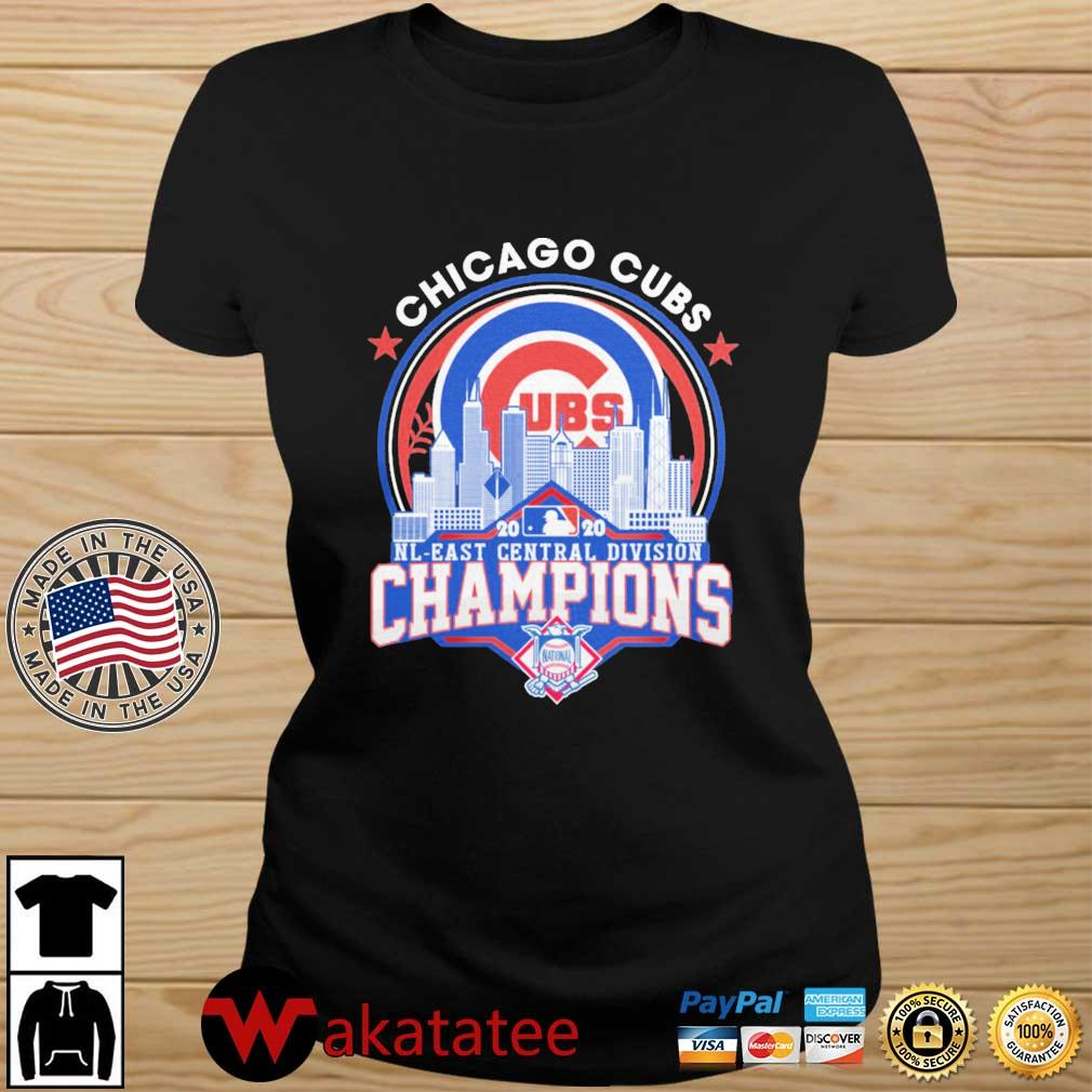 Chicago Cubs 2020 NL East Central Division Champions s Wakatatee ladies den