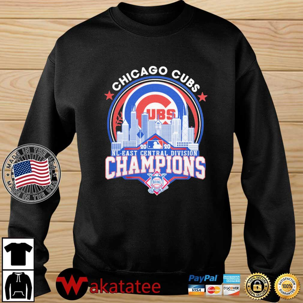 Chicago Cubs 2020 NL East Central Division Champions s Wakatatee sweater den