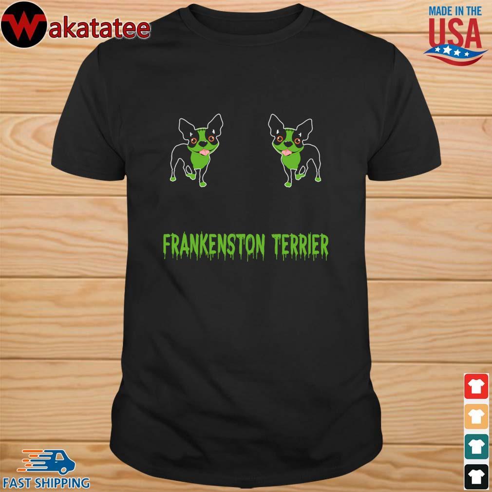 Chihuahua frankenstein terrier Halloween shirt