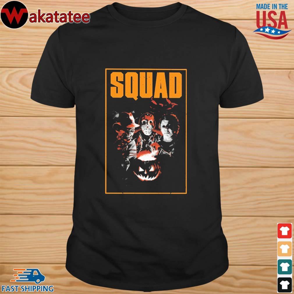 Freddy Krueger Jason Voorhees Michael Myers squad Halloween shirt