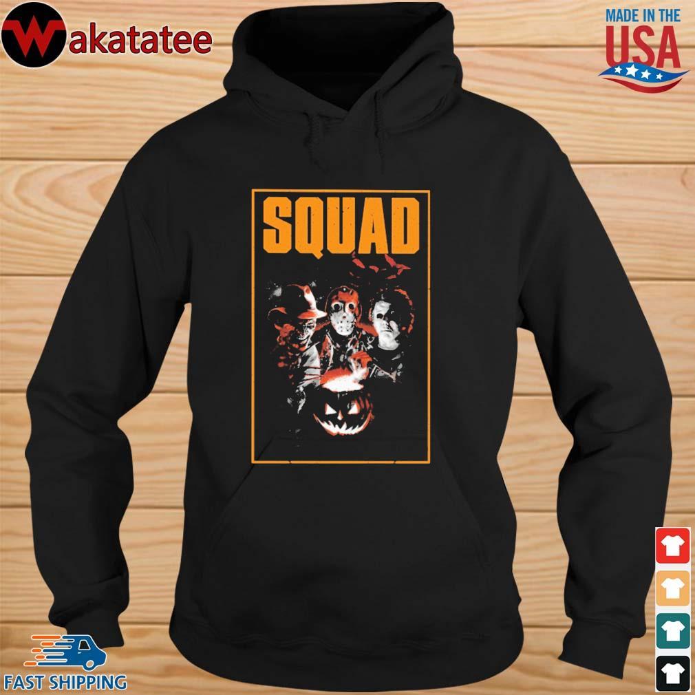 Freddy Krueger Jason Voorhees Michael Myers squad Halloween s hoodie den