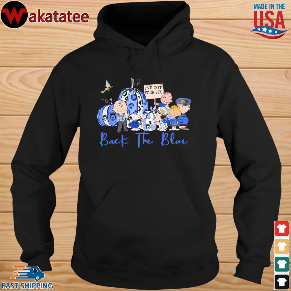 Halloween Snoopy the Peanuts back the blue s hoodie den