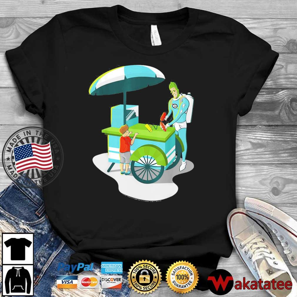 DC Fandome Batman Condiment Kings Cart Shirt