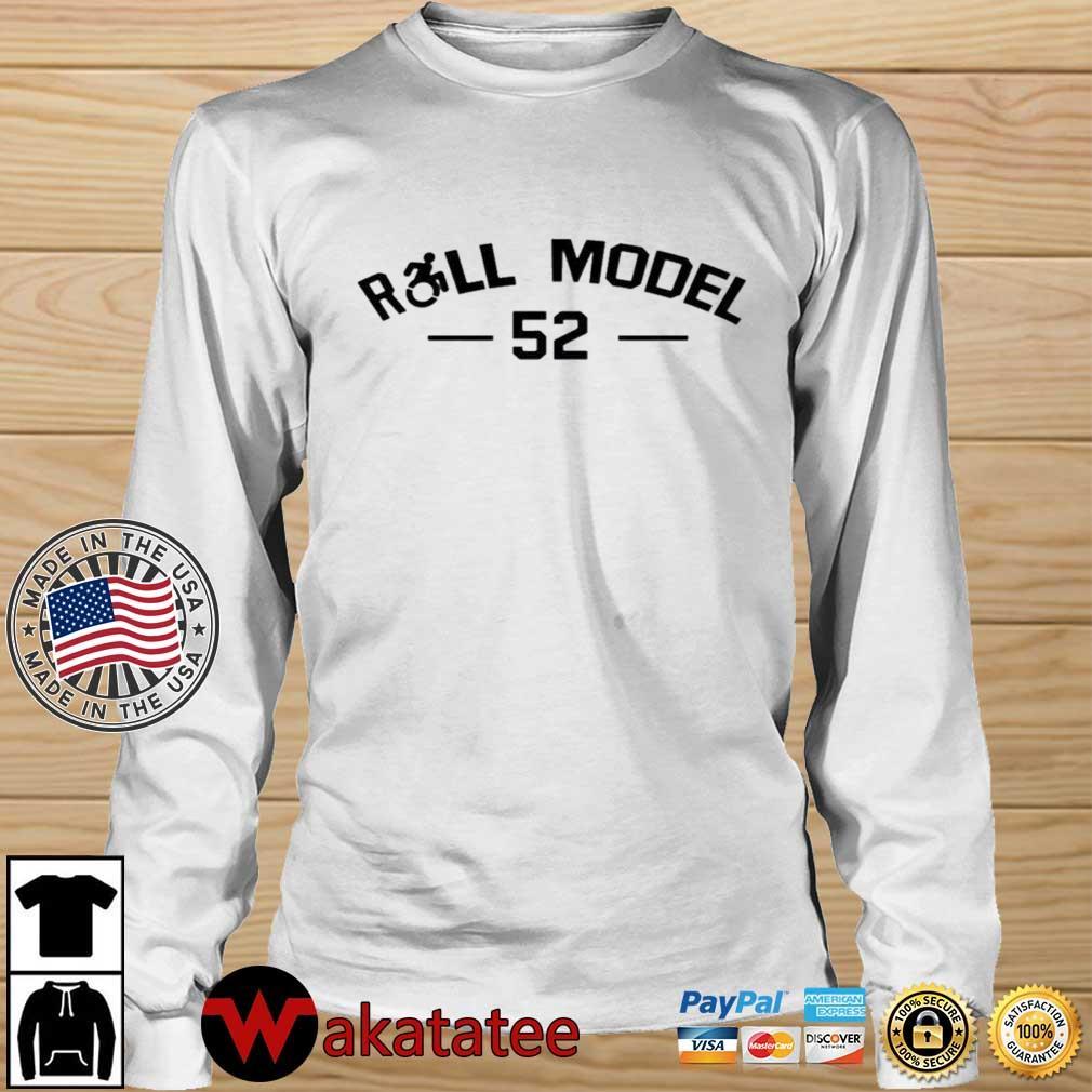 Eric LeGrand Roll Model 52 Shirt Wakatatee longsleeve trang